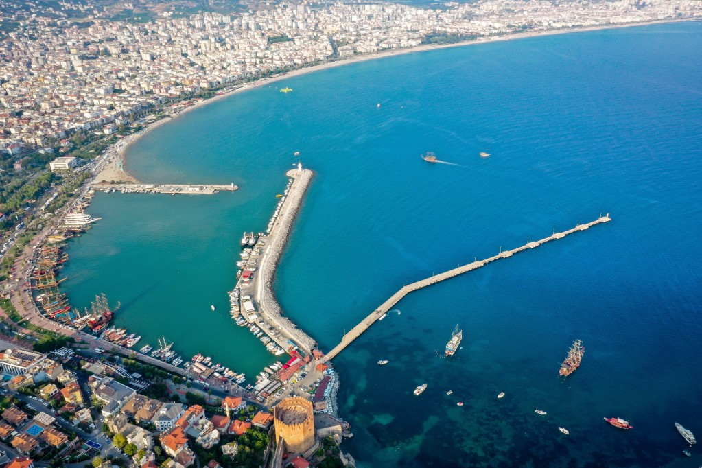 Город Алания, Турция