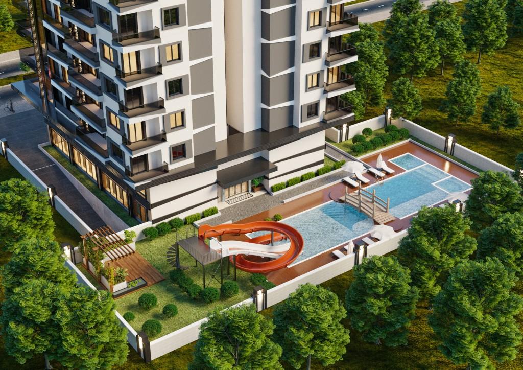 Строительство жилого комплекса Yenisey 8